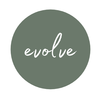 Evolve Logo. Personal and professional empowerment.